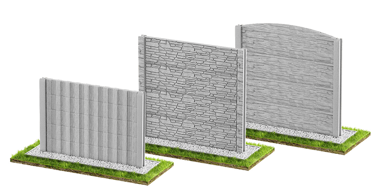 Concrete fences - slider
